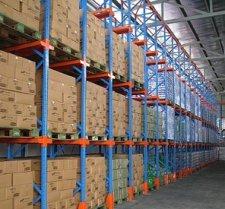 אחסון מדפי מתכת למסחר ותעשייה