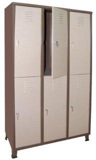 ארון מלתחה (לוקר) 6 תאים אישיים